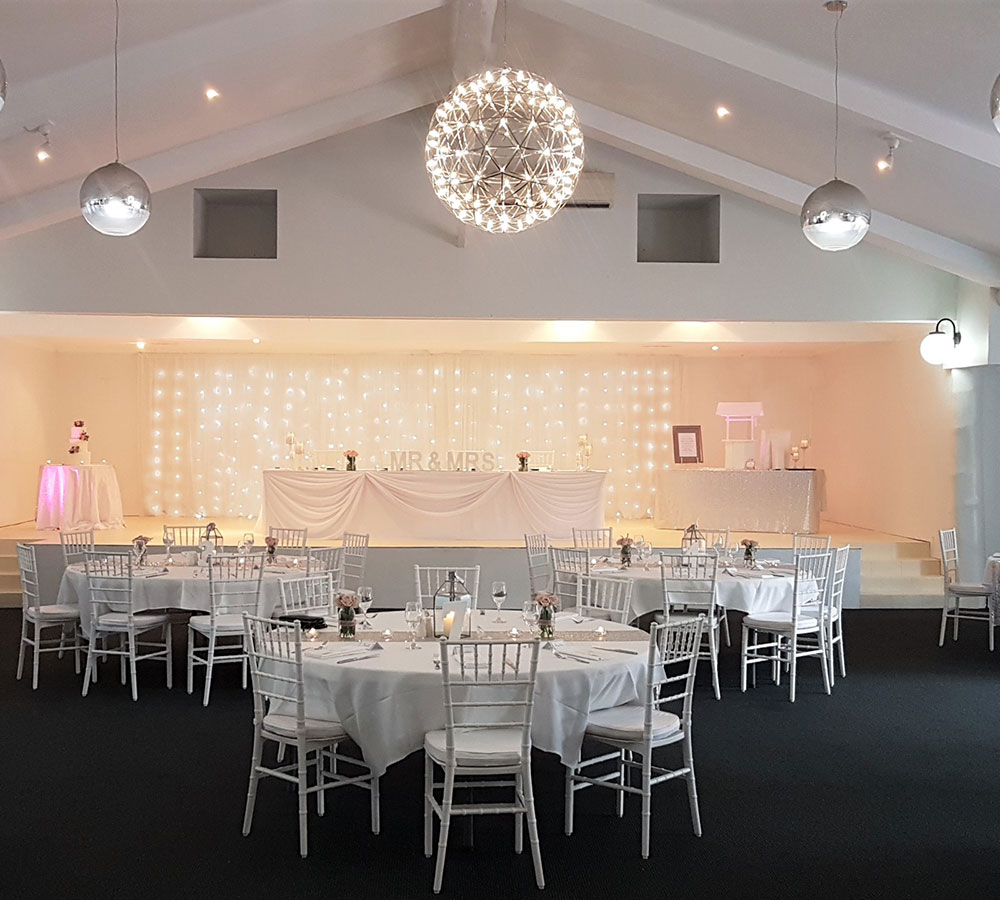 waterfall room reception venue